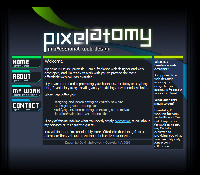 Pixelatomy as seen in 2011